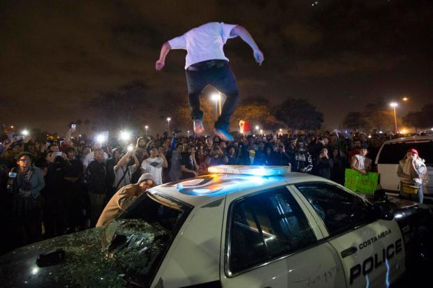 Trump Rally, Costa Mesa, California