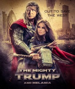 President Trump and Melania 2020