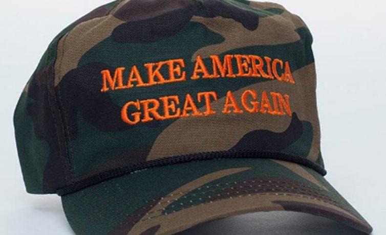 Trump Camouflage MAGA Cap
