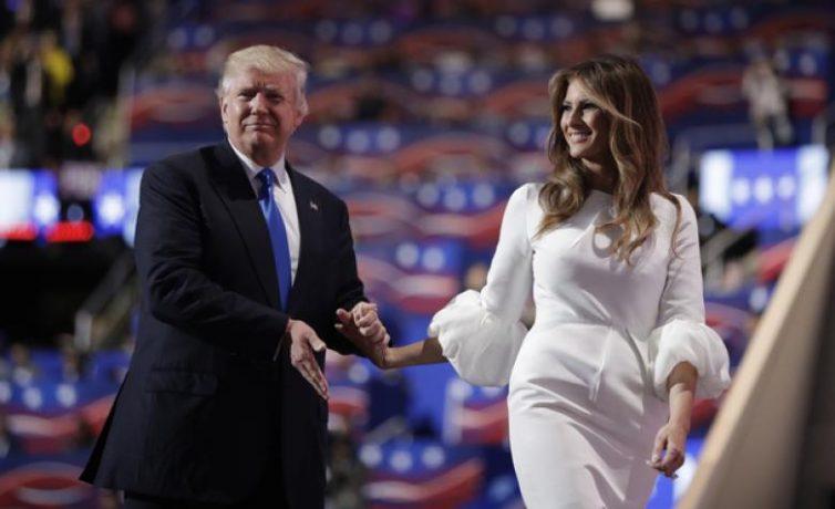 Queen Melania Trump Fashion Show