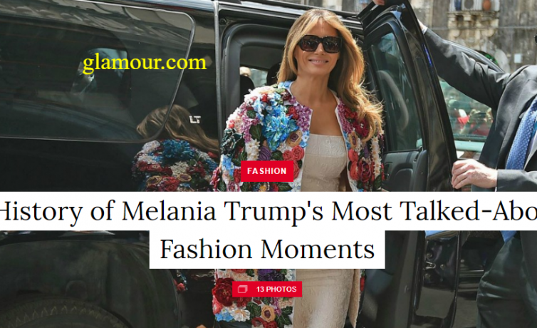 Queen Melania Trump Fashion Show