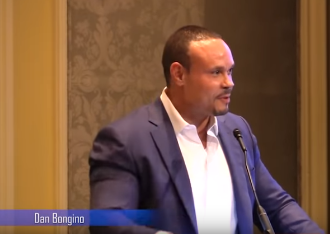 Dan Bongino at the David Horowitz Freedom Center Restoration Weekend 2018