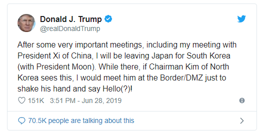 Trump Meeting Kim Jong Un