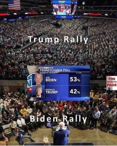 Trump vs. Biden Rally
