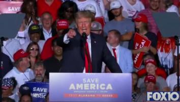 President Trump speaks Cullman Alabama