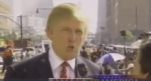 President Trump 911